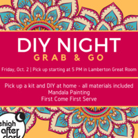 DIY Night - Grab & Go | Lehigh After Dark