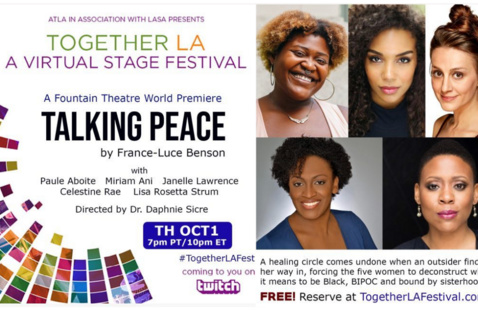 Fountain Theatre's 'Taking Peace' by France-Luce Benson