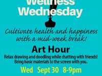 Wellness Wednesday @ Tatkon: Art Hour