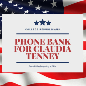 College Republicans: Claudia Tenney Phone Bank