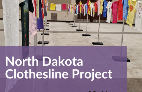 North Dakota Clothesline Project