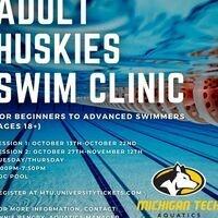 Adult Huskies Swim Clinic Session 1