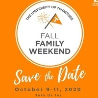 Fall Family Weekend save the date