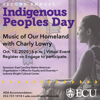 Second Annual Indigenous People's Day: Charly Lowry