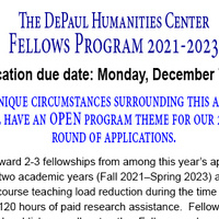 DHC Faculty Fellows Application Workshop