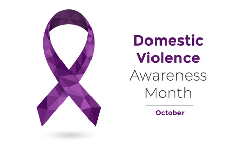 Domestic Violence Awareness Month Logo