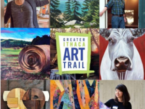 Greater Ithaca Art Trail: Open Studios AND Virtual Events!