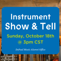 Instrument Show & Tell