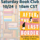 VIRTUAL BOOK CLUB: AFTER THE LAST BORDER