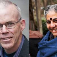 Bill McKibben & Vandana Shiva in Conversation: Social Transformation - Visions & Mobilizations