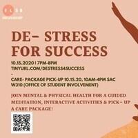 De-Stress for Success