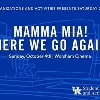 SOA's Saturday Cinema Series: Mamma Mia! Here We Go Again