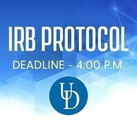 IRB DEADLINE: IRB Protocols Due Via IRBNet for July 21 Meeting