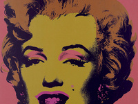 "Andy Warhol, Marilyn ""Monroe (Marilyn)"", 1967. Portfolio of ten screenprints on paper, 3/250. Bank of America Collection."