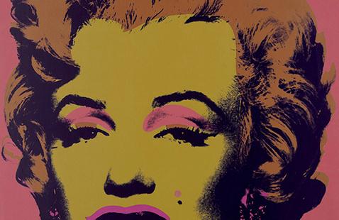 "Andy Warhol, Marilyn ""Monroe (Marilyn)"", 1967. Portfolio of ten screenprints on paper, 3/250. Bank of America Collection."