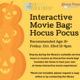 Children's Interactive Movie Bag