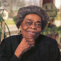 Color Photograph of Oseola McCarty