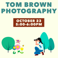 Drop-In Campus Adventures: Tom Brown Photography