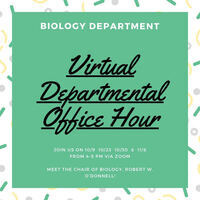 Biology Departmental Office Hour