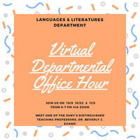 Languages and Literatures Departmental Office Hour