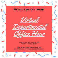 Physics Departmental Office Hour
