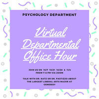 Psychology Departmental Office Hour