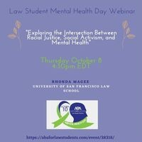 ABA Law Student Mental Health Day: Mental Health Webinar