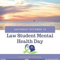 ABA Law Student Mental Health Day: Social Media Hashtag Campaign