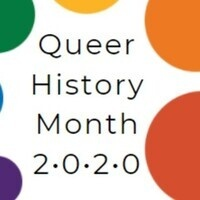 Tabling for Queer History Month