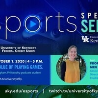 "Esports Speaker Series: ""Go Play! The Value of Playing Games"""