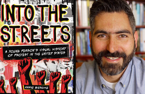YA Writer's Live w/ Marke Bieschke! (A History of Protest)