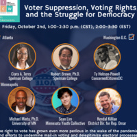 Voter Suppression, Voting Rights, and the Struggle for Democracy