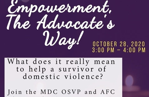 Empowerment, The Advocate's Way!
