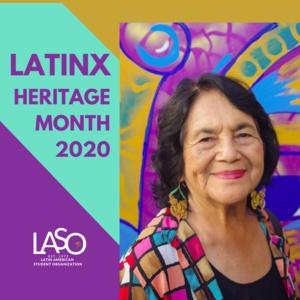 LASO Fall 2020 Keynote Speaker: Dolores Huerta