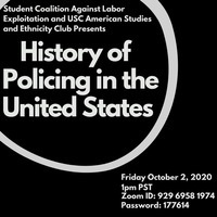 History of Policing in the United States