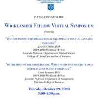 IBPE Wicklander Fellow Virtual Symposium