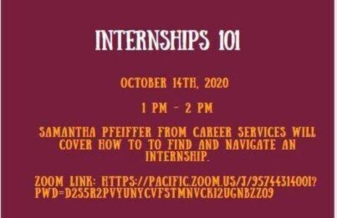 Internships 101 (Success)