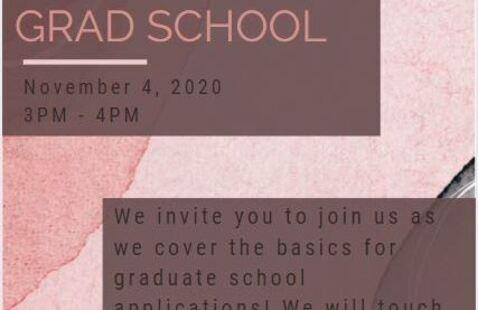 Your Ticket to Grad School!