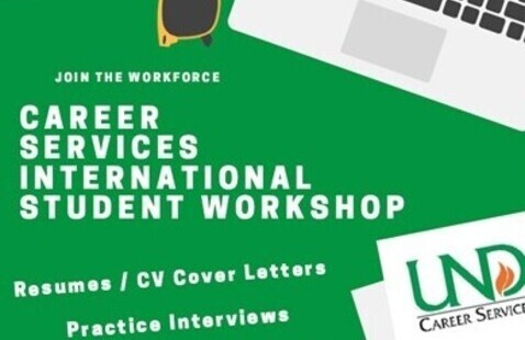 International Center / Career Services Info Session