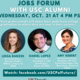 Jobs Forum with USC Alumni for Students