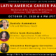 Latin America Career Panel part of the Overseas Studies Guest Lecture Series