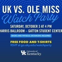 UK vs Ole Miss Watch Party