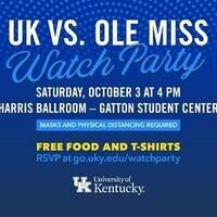 UK vs Ole Miss Watch Party