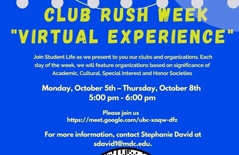 "Club Rush Week "" Virtual Experience """