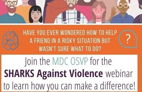Domestic Violence Awareness Month: Sharks Against Violence Workshop