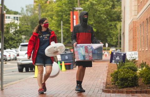 University Housing Spring Move-In