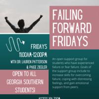 Failing Forward Fridays