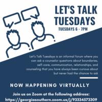 Let's Talk Tuesdays