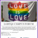 Love is Love: LGBTQ+ Campus Forum