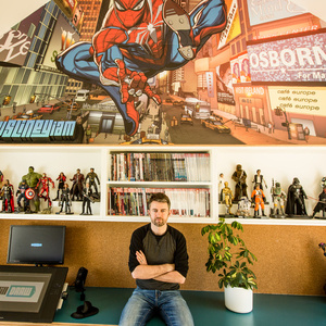 BGSU Drawing Class with Will Sliney: Artist for Marvel's Spider-Man and Star Wars